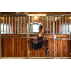 Amortisseur de dos mousse équitation cheval et poney 500 marron
