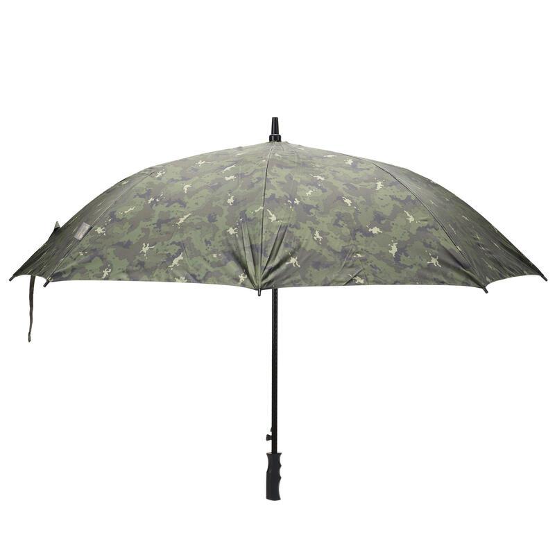Camouflageparaplu voor de jacht Island groen