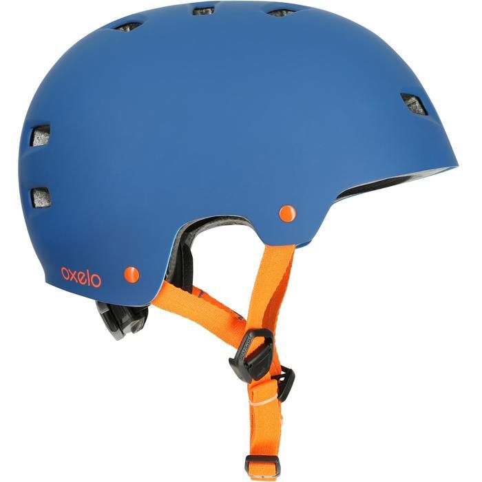 MF 7 Skate Skateboard Scooter Bike Helmet - Blue/Orange - 17218