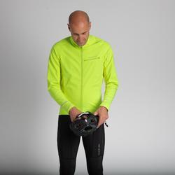 Fahrrad Winterjacke RR 500 für kalte Temperaturen gelb