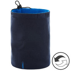 Adult Reverse Ski Neckwarmer - Navy Blue