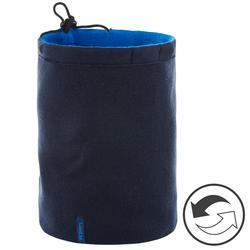 Adult Reverse Ski Neckwarmer - Navy Blue