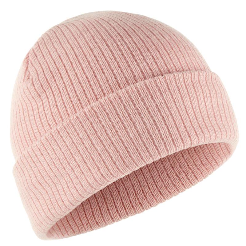 Adult Ski Hat Fisherman - Light Pink