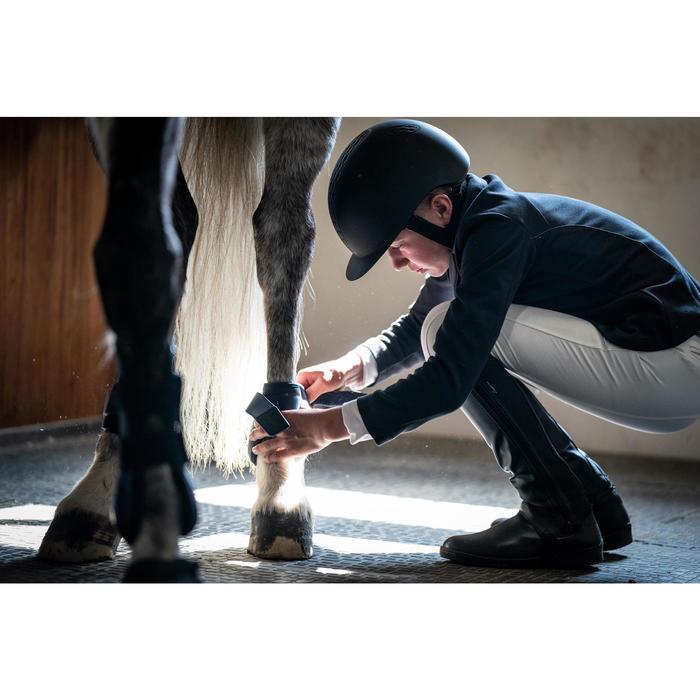 Mini-chaps équitation enfant CLASSIC 140 synthétique noir