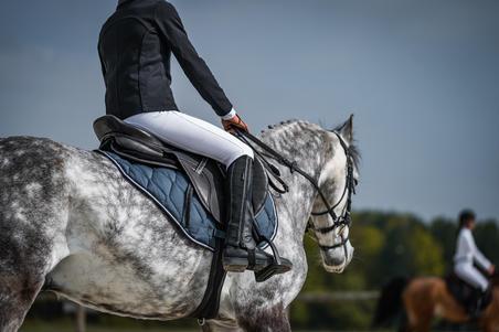 500 Adult Horseback Riding Jodhpur Boots - Black