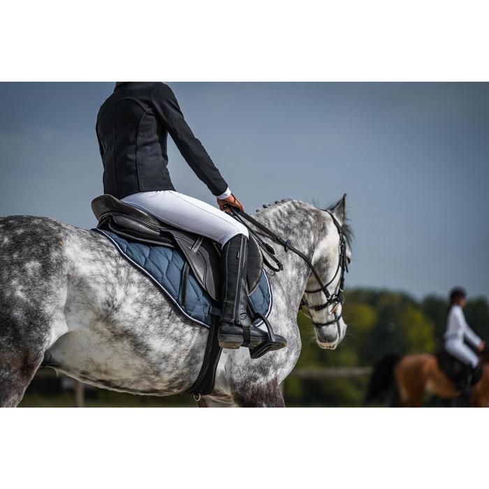 Veste de concours équitation enfant COMP 100 noir