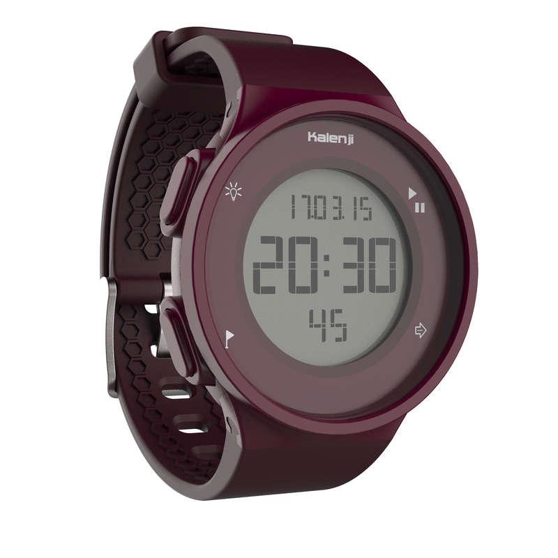 RELÓGIOS OU CRONÓMETROS CORRIDA Relógios, GPS, Monitores Atividade - CRONÓMETRO W500 M VIOLETA ROSA KALENJI - Relógios, GPS, Monitores Atividade