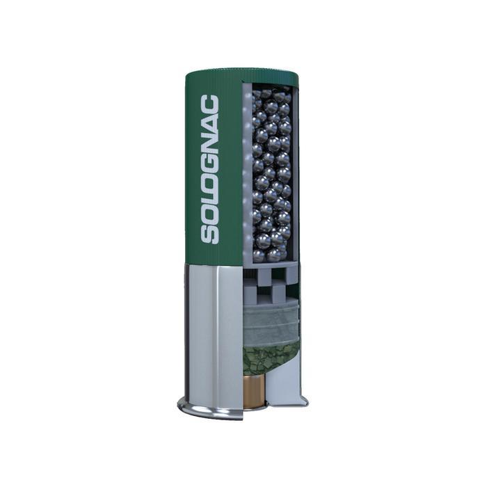 Cartucho Caza Solognac XL 900 HV 35 Gramos ACERO
