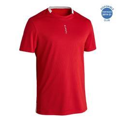 Camiseta Fútbol Kipsta F100 adulto rojo