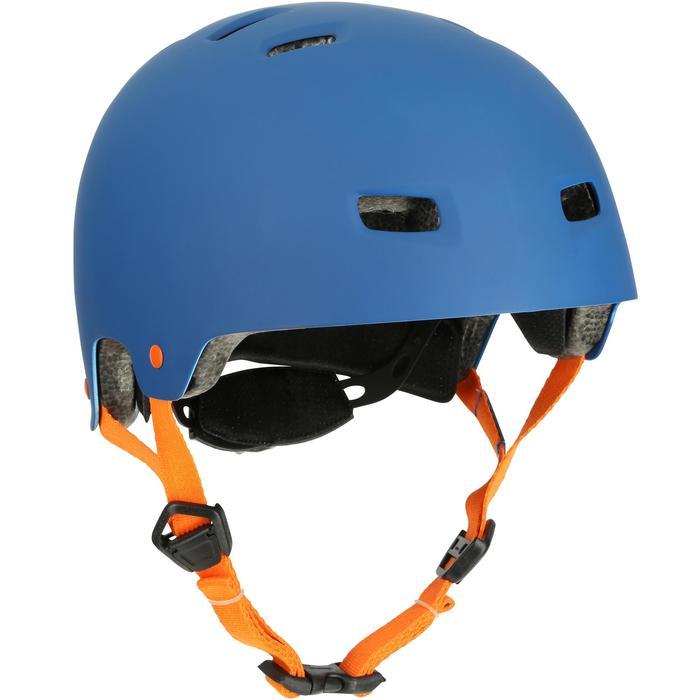 MF 7 Skate Skateboard Scooter Bike Helmet - Blue/Orange - 17222