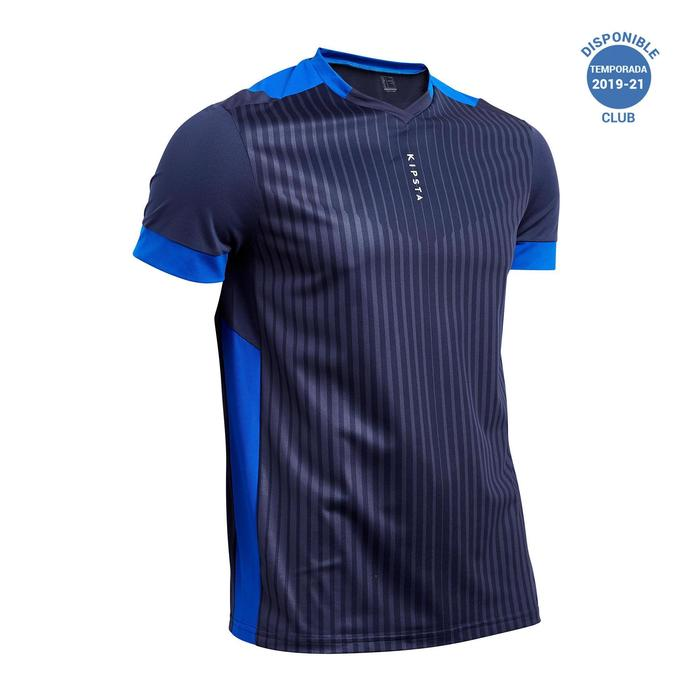 Maillot de football adulte F500 bleu marine