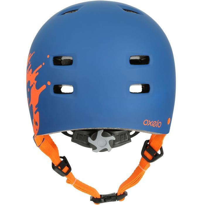 MF 7 Skate Skateboard Scooter Bike Helmet - Blue/Orange - 17223