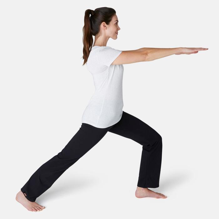 Legging Confort+ 500 regular Fitness femme noir