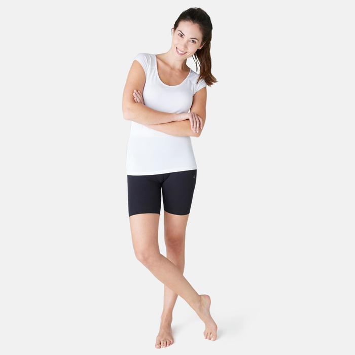 Cycliste FIT+ 500 slim Pilates Gym douce femme noir