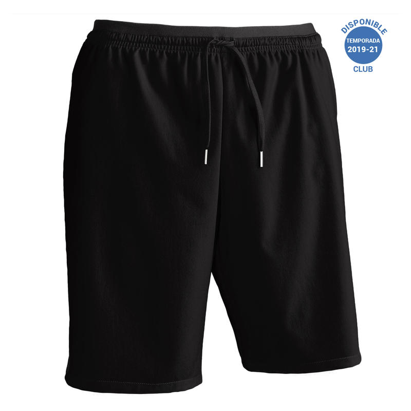 Men's Football Shorts F500 - Black