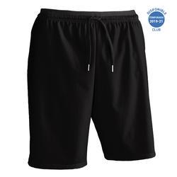 Pantalón corto de Fútbol adulto Kipsta F500 negro
