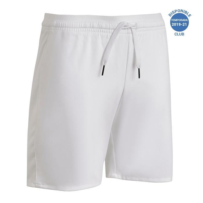 Pantalón corto de Fútbol júnior Kipsta F500 blanco