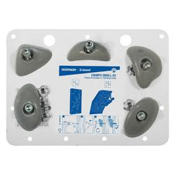 PRISES D'ESCALADE - VERTIKA CRIMPS SMALL GRIS CLAIR X5