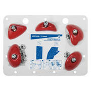 CLIMBING HOLD CRIMPS SMALL RED X5