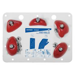 PRISES D'ESCALADE CRIMPS SMALL ROUGE X5