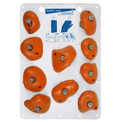 PRISES D'ESCALADE - VERTIKA JUGS MEDIUM ORANGE X10