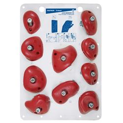 PRISES D'ESCALADE - VERTIKA JUGS MEDIUM ROUGE X10