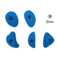 CLIMBING HOLDS - VERTIKA CRIMPS SMALL X5 - BLUE