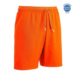 Pantalón corto de Fútbol júnior Kipsta F500 naranja
