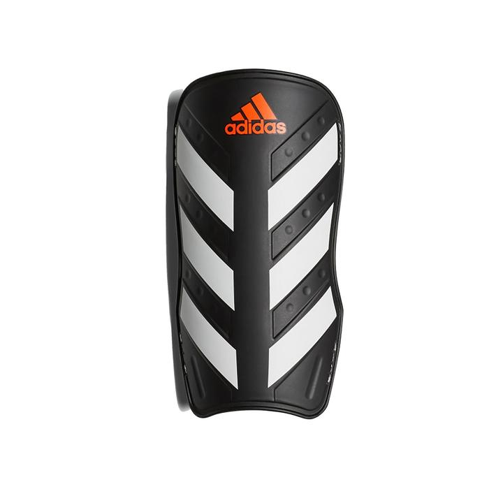 Protège tibias football adulte Adidas Everlite noir blanc