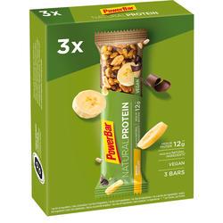 Proteinriegel Eiweißriegel Natural Protein Schoko/Banane 3 × 40g