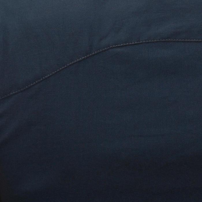 Turnierbluse ärmellos Damen marineblau