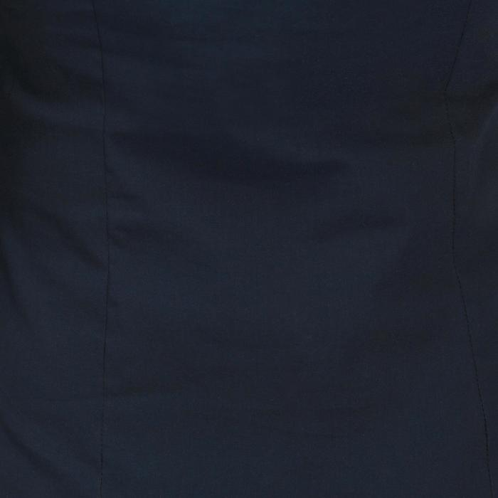 Mouwloze damesblouse Concours ruitersport marineblauw