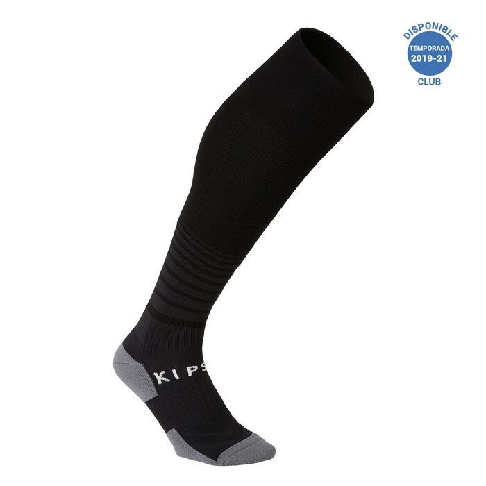 Chaussettes de football adulte F500 noir