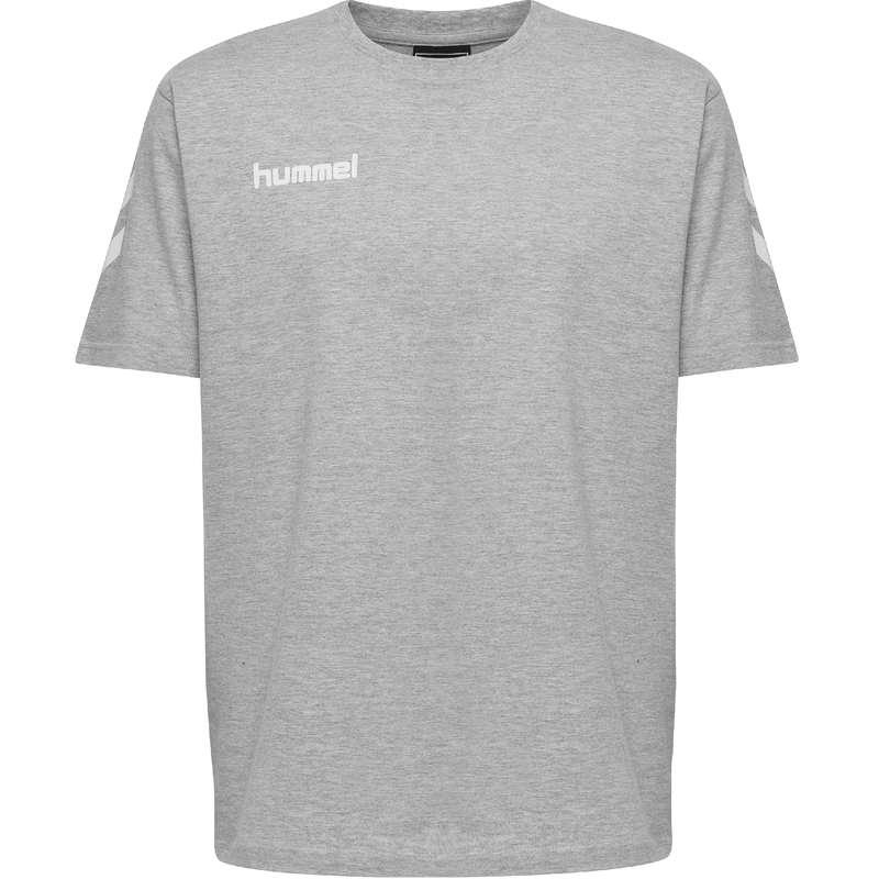 Közv. megrend kézilab USA csapatsportok, rögbi, floorball - Hummel go póló grey melange jr HUMMEL - Floorball