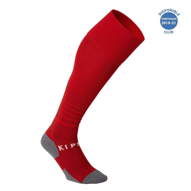 NO_NAME_FOUND Sport di squadra - Calzettoni calcio F500 rossi KIPSTA - Abbigliamento Futsal