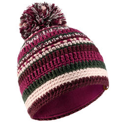 Ski Hat Mixyarn - Grey Plum