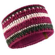 Adult Mixyarn Ski Headband - Grey Plum