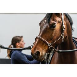 Leren halster ruitersport paard en pony 900 bruin