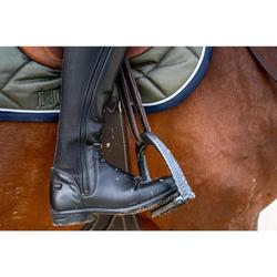 Botas Equitación Fouganza LB 500 Warm Adulto Negro Cálidas