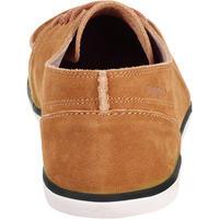 Kostalde Men's Leather Boat Shoes - Dark Beige
