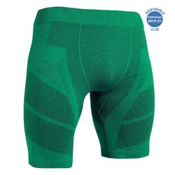 Pantalón Corto Térmico Kipsta Keepdry 500 adulto verde
