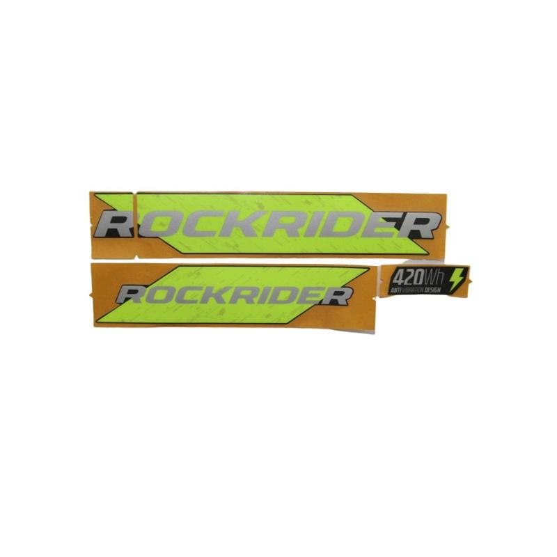 Battery Stickers EST500 - Yellow