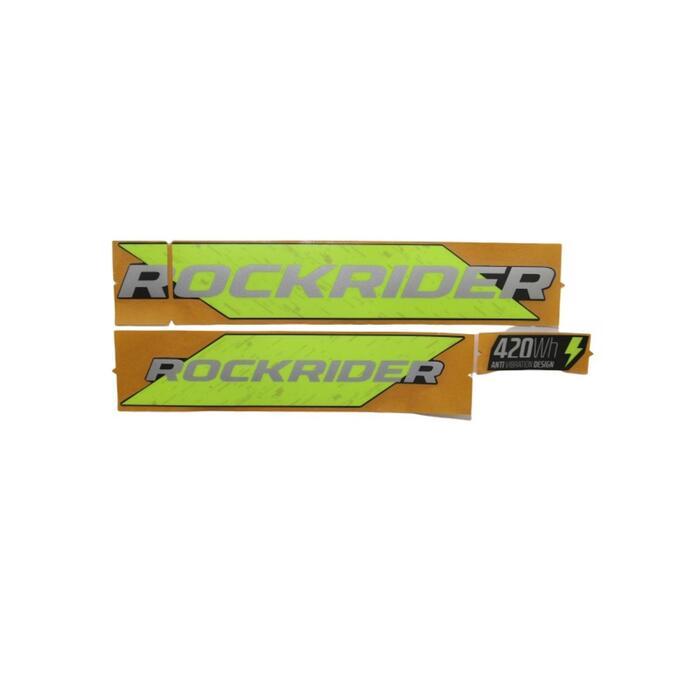 stickers batterie EST500 Jaune