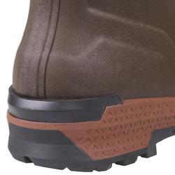 Warme jachtlaarzen Renfort 900 bruin