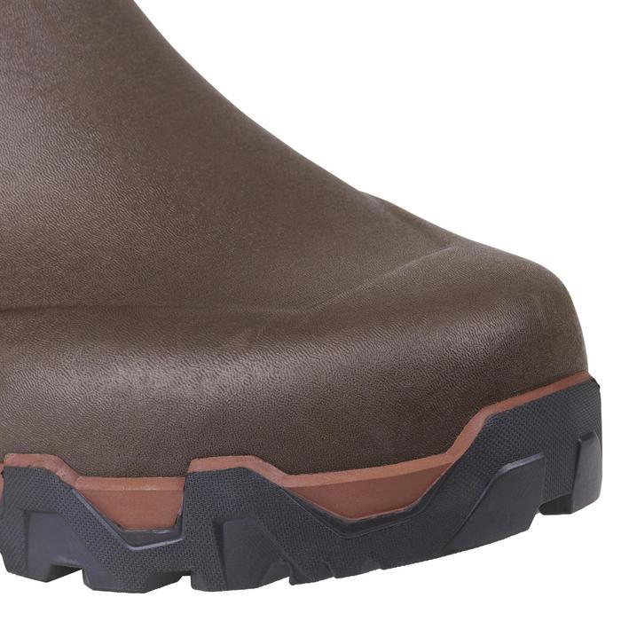 Jagd-Gummistiefel Renfort 900 warm braun