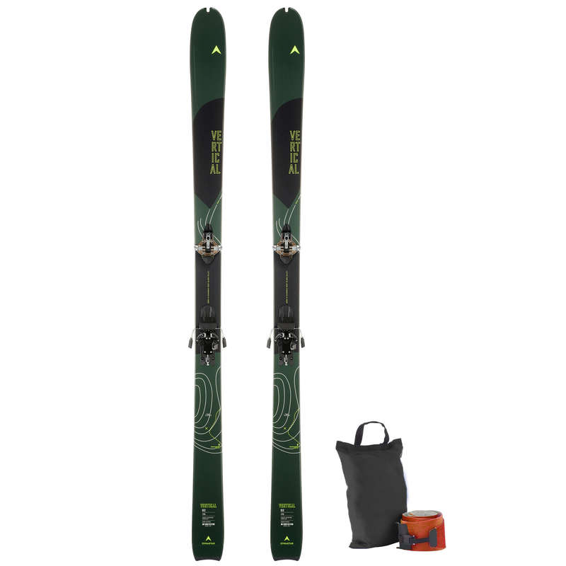 EQUIP SKI DE CAMINHADA Ski de Fundo e de Caminhada - CONJUNTO SKI DYNASTAR VERTICAL DYNASTAR - Material Ski de Caminhada