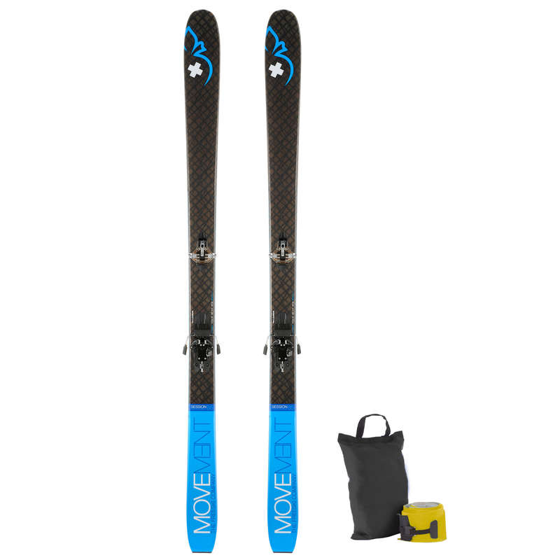 SKI TOURING EQUIPMENT Skiing - SKI MOVEMENT PACK SESSION 85 MOVEMENT - Ski Equipment