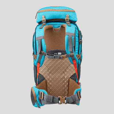Women's Travel Trekking 50 L Backpack- Travel 500 - Blue