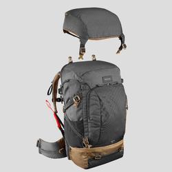 Backpacking Rucksack Travel 500 Easyfit Herren 50Liter grau