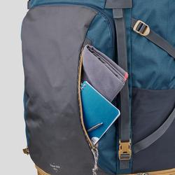 Travel500 Men's 70 Litre Lockable Trekking Backpack – Blue